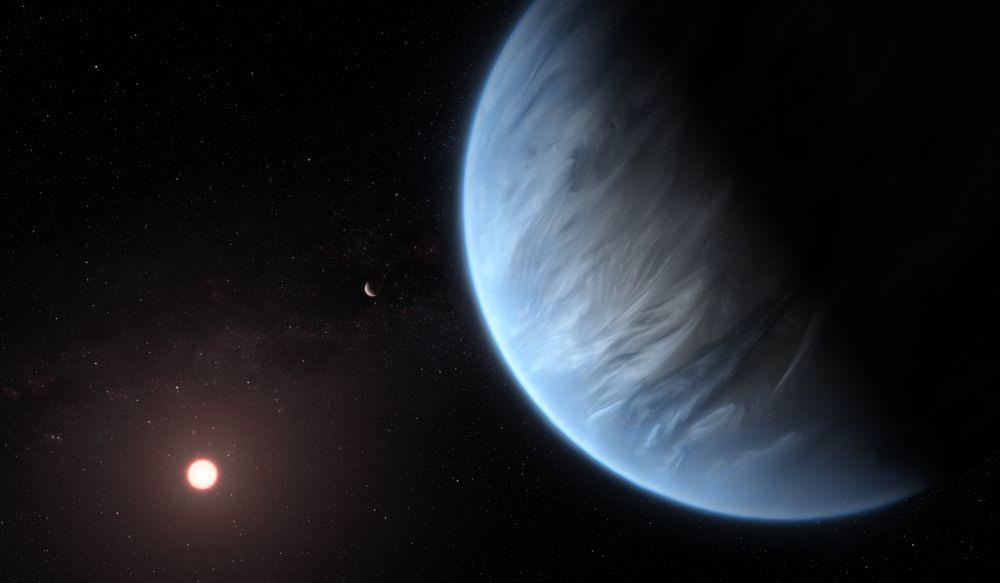 ExoplanetWaterK2-18b